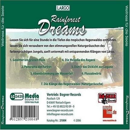 CD-Shop - Largo Rainforest Dreams - Natürliche Entspannung