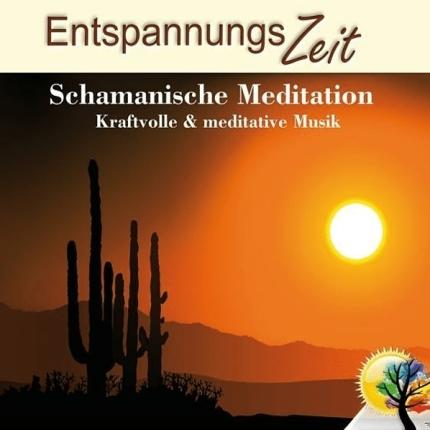 Entspannungszeit – Schamanische Meditation Cd-Front