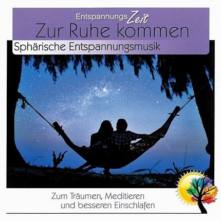 Entspannungszeit - Zur Ruhe Kommen - Entspannungsmusik - CD-Front - RS